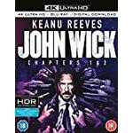 John Wick: Chapters 1 & 2 [4k Ultra HD + Blu-ray + Digital Download] [2017]